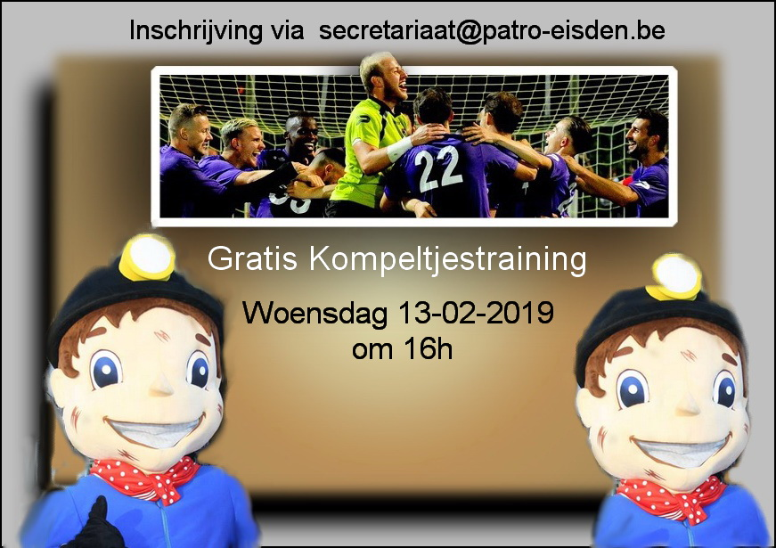 Gratis Kompeltjestraining photo