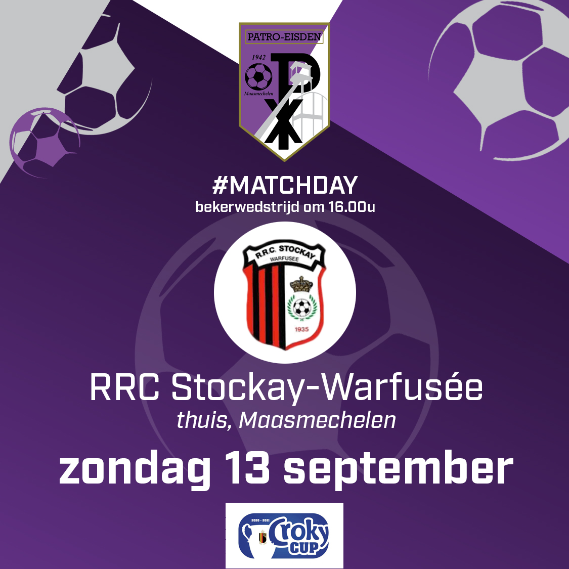 Informatie thuismatch RRC Stockay-Warfusée photo